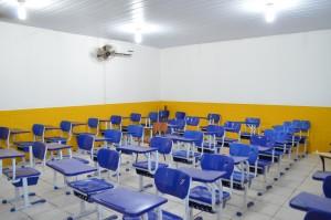 Escolas foram recuperadas e climatizadas