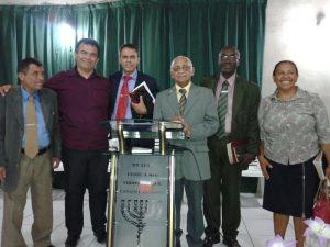 Lins reunido com lideranças religiosas