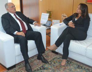 Eliziane e Roberto Freire