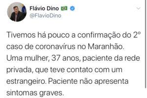 8346FEF1 2B96 4FB9 B1D9 774692F784A3 300x200 - Maranhão acaba de confirmar segundo caso de Coronavírus - minuto barra