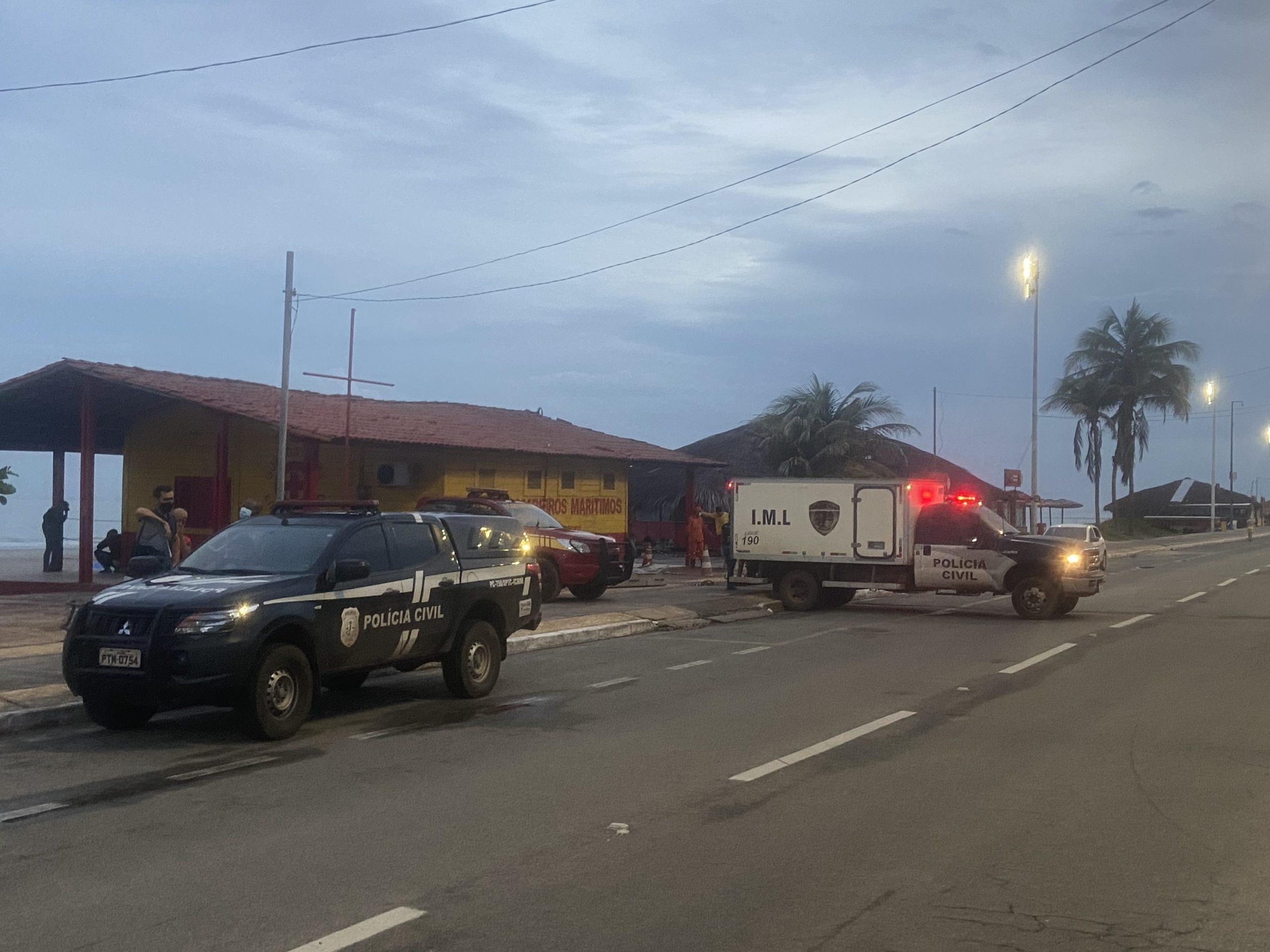 Homem é encontrado morto na praia de São Marcos nas primeiras horas desta segunda-feira | Diego Emir
